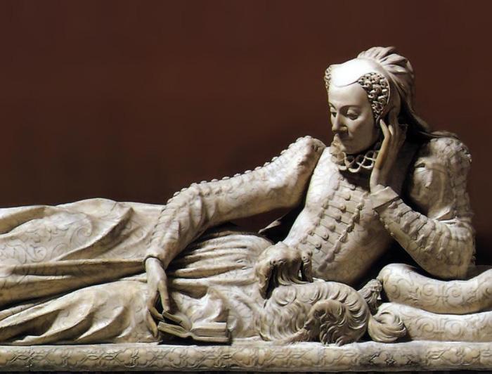 Жермен Пилон, надгробная скульптура Валентины Бальбиани.