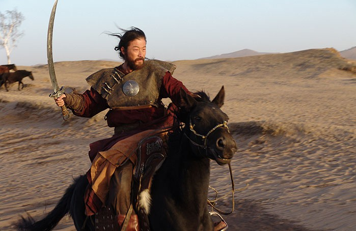 Чингиз-хан. Кадр из фильма «Монгол».